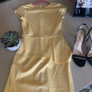 Soft yellow dress